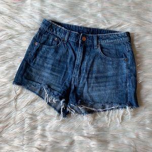 H&M Divided Cutoff Shorts